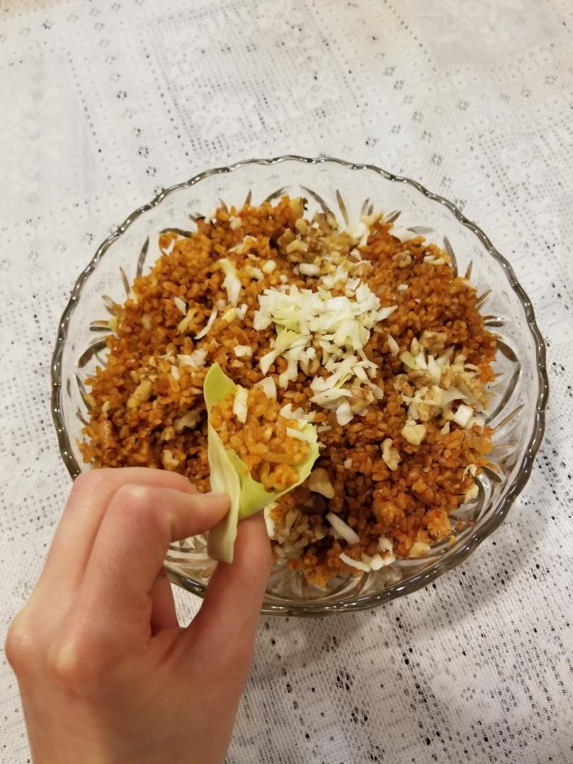 Vegan Syrian Appetizer Eej